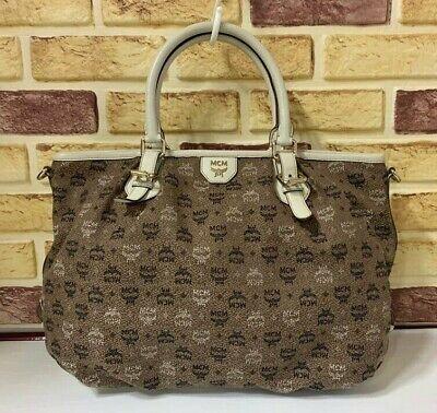 100% Authentic MCM Brown Shoulder Bag