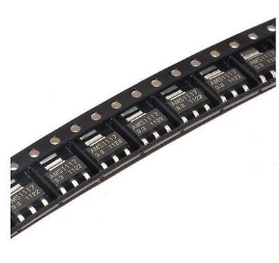 100pcs Ams1117-3.3 Lm1117 3.3v 1a Sot-223 Voltage Regulator New