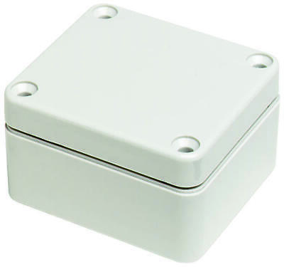 Bud Industries-pn-1322-enclosure Junction Box Polycarbonate Grey