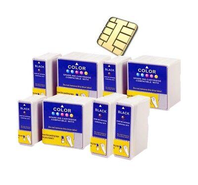 8 Druckerpatronen kompatibel. für Epson Stylus Photo 1290 (kein original Epson) (Epson Stylus Photo Drucker)
