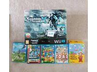 Wii U Premium Console with 5 top games