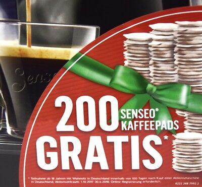Philips Senseo HD7829/69 Viva Café Kaffeepadmaschine schwarz (200 Pads Gratis*)