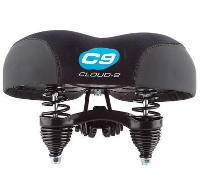 - Cloud-9 Cruiser Anatomic Cruiser Steel Lycra Saddle -Black