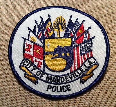 LA Mandeville Louisiana Police Patch
