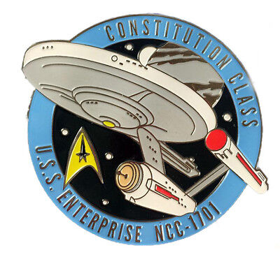 Enterprise NCC-1701 - exklusiver Sammler Collectors Pin Metall - Star Trek - neu