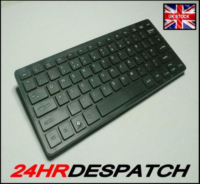 Compact Ultra Slim USB Wired  Universal Keyboard For Computer And PC, Black