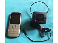 Nokia C1 mobile phone & charger. Comes with Sim with over £9.00 left on it