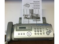 Panasonic KX-FP215E Compact Plain Paper Fax with Telephone Digital Answering System