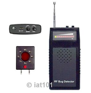 Prof-6GHz-Bug-Detector-Anti-Hidden-Wireless-Wired-SPY-Camera-Cell-Phone-BD-6L