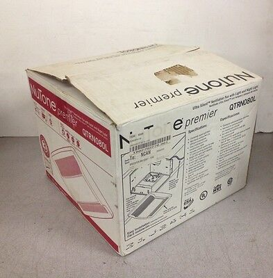 Nutone Qtrn080l Ventilation Fanlight