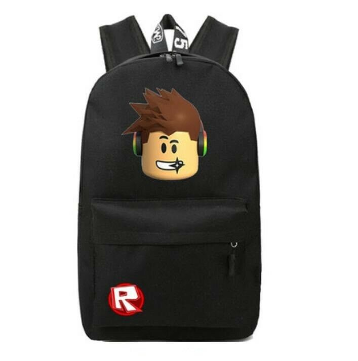 Roblox Backpack Kids School Bag Students Boys Bookbag Handbags Travelbag