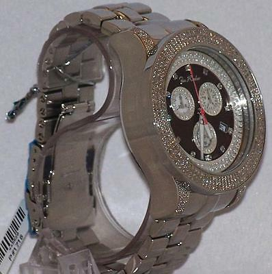 - New Authentic Mens JOJO Joe Rodeo PILOT  3.15 CT.aprx.real diamond watch. JRPL2