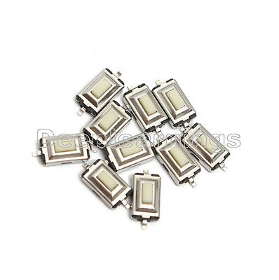 100pcs 3x6x2.5mm Tactile Push Button Switch Tact Switch Micro Switch 2-pin Smd