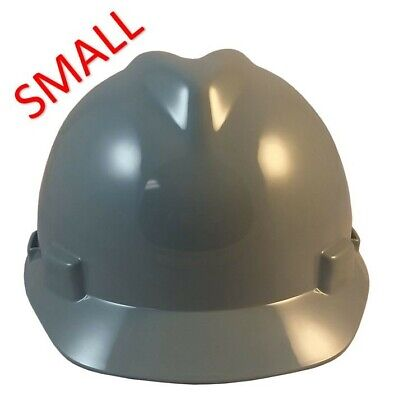 Msa V-gard Small Cap Style Hard Hat With Staz On Suspension - Grey