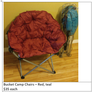Camping Chairs, Fishing Rod