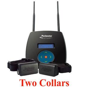 Wireless Dog Fence 2 Collars Ebay