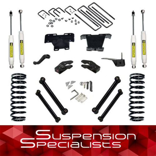"Superlift 5"" Lift Kit W/ Shocks For 2000-2001 Dodge Ram 1500 4wd"