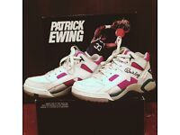 Ewing Grape Mid Wrap Basketball trainers