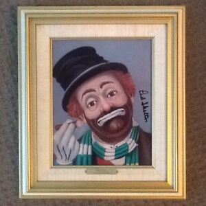 Red Skelton limited edition pieces-numbered and signed