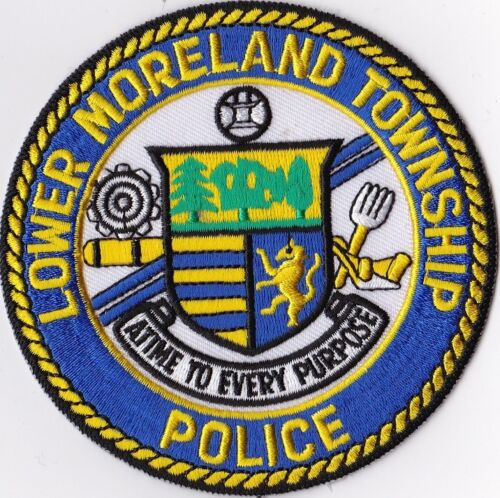 Lower Moreland TWP Pennsylvania PA Police patch