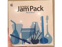 NEW Apple GarageBand Jam Pack: World Music Software Genuine Retail
