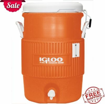 Igloo Metal Wire Cooler Beverage Jugs Rack 2-5 Gallon Adjustable Strap Holder