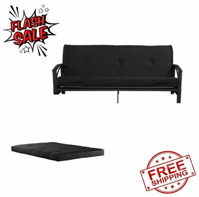 Futon Guest Spare Room Sofa Bed Full Size 6