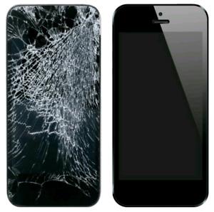 iPhone Screen Glass Broken Repair Starts from $45 ++ Warranty ++