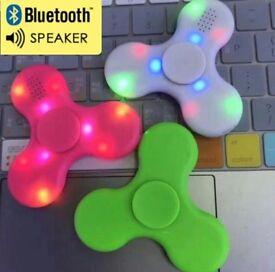 Bluetooth speaker Led fidget spinners
