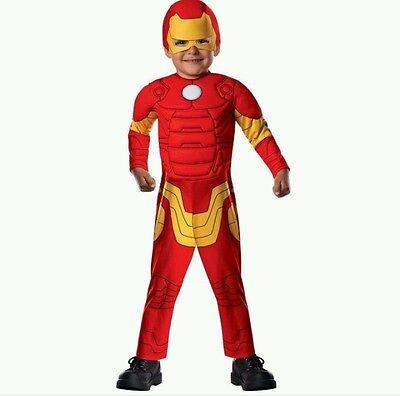 Marvel Avengers Iron Man Toddler Child Dress Up - Iron Man Dress Up 2