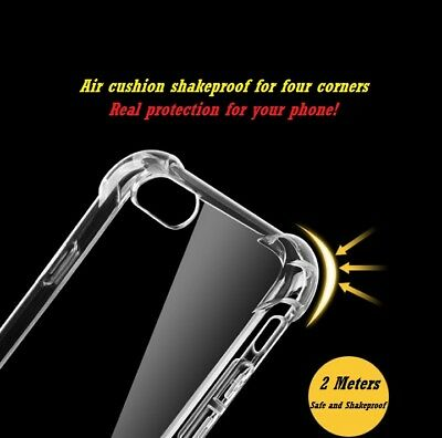 - US-New Hybrid Skin Transparent Case TPU Gel Cover For Apple iPhone XR XS XS MAX