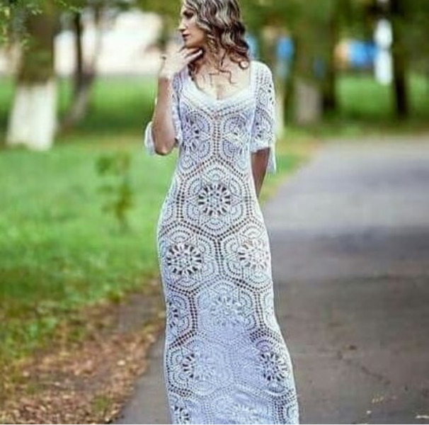 Crocheted Wedding Gown: Crochet Wedding Dresses To Order