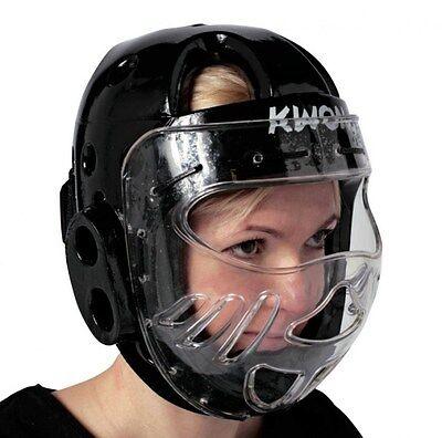 KWON Kopfschutz KSL mit Maske CE. Kampfsport, BudoSport, Karate, Taekwondo, SV