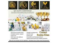 Forever Living Aloe Vera Products.
