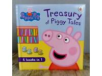 Peppa pig 6 in 1 stort book