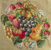 PREWORKED Needlepoint Fruit