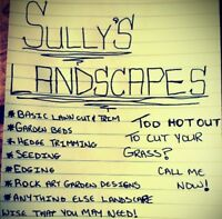 Do you have any landscaping needs? Look no further!!