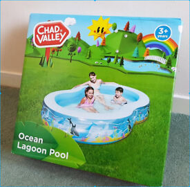 Chad Valley Ocean Lagoon Pool 500L 9ft