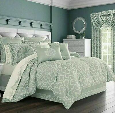 J QUEEN NEW YORK Lombardi Spa 4-Pc. King Comforter Set $585 K