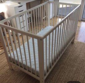 IKEA Gulliver cot & mattress