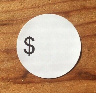 189 Self-adhesive Sale Price Round Retail Labels 1 Sticker Tags