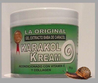 Karakol-kream baba de caracol,manchas,estrias,snail cream crema de caracol acne