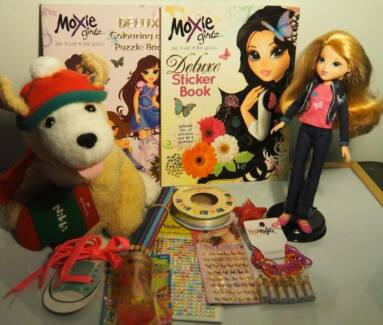 MOXIE Girls Toy ACCESSORIES STICKERS CRAFT+Barbie SIZE Doll$8Tot