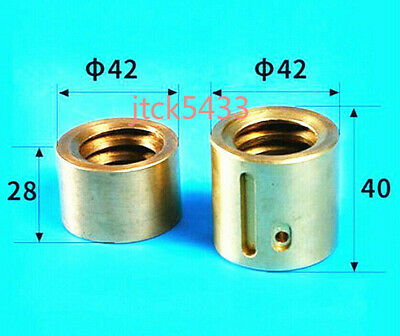 1 Set Milling Machine Part Landscape Screw Nut Y Axis Mobile Copper Nut Cnc Mill