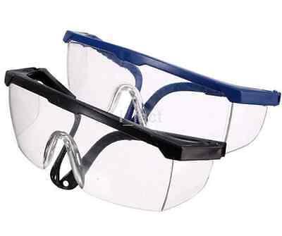 Eyes Protective Goggles Safe Anti-fog Glasses Blue Frame Dental Supplies US