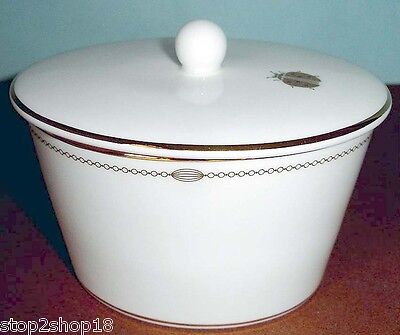Monique Lhuillier Royal Doulton Charms Covered Sugar Bowl New Royal Doulton Charms