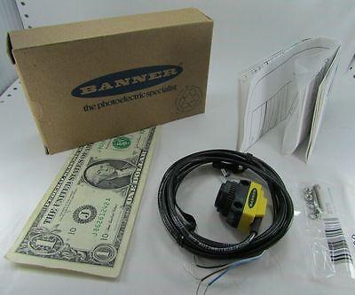 New Banner Engineering Photoelectric Infrared Sensors Qs18vn6r-75132 10vdc30vdc