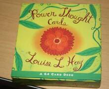 Power Thought Cards by Louise L. Hay North Avoca Gosford Area Preview