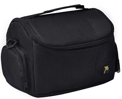 DSLR Digital Camera Camcorder Deluxe Padded Case Bag for Canon Nikon Sony Pentax