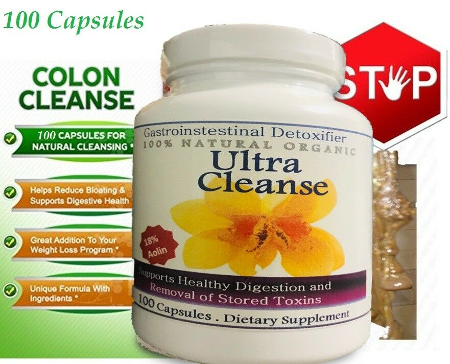 #1 FLUSH ULTRA Cleanse Natural Complete Colon Cleanse Bowel Cleansing Supplement 1